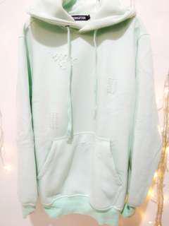 Hoodie green soft / mint