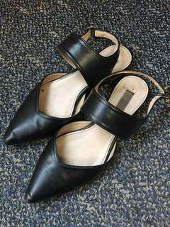 Marie Claire pointed flat shoes