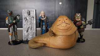 """Star Wars ROTJ package PVC Disney 3.75"""" figurine"""