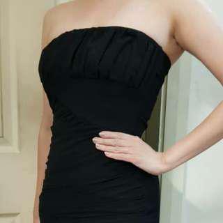 Zara little black tube dress