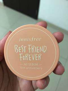 (Used Once) Innisfree No Sebum Powder