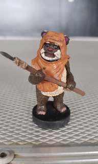 """Star Wars ROTJ Ewok PVC Disney 3.75"""" figurine"""