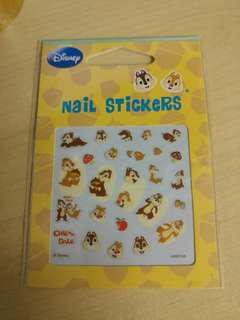 Chip N Dale Nail Stickers Disney 指甲貼