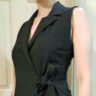 Bershka Blazer vest dress