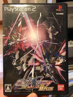 Gundam seed destiny 連合 vs zaft ps2 play station game