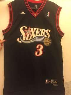 NBA費城76人籃球波衫