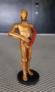 """Star Wars C3PO PVC Disney 3.75"""" figurine"""