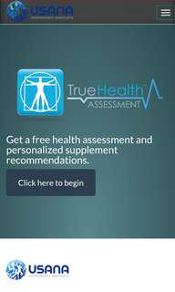 FREE PERSONALIZED USANA HEALTH ASSESSMENT