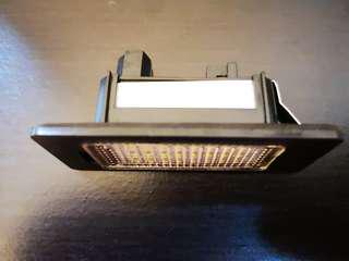 BMW Liscence plate light replacement