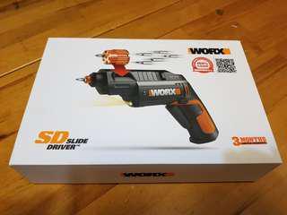 WORX 4V鋰電池 左輪手鎗型電動螺絲批