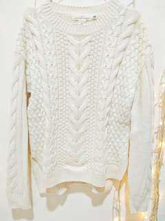 H&M knit cream / brokenwhite