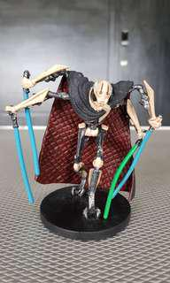 "Star Wars General Grievous PVC Disney 3.75"" figurine"