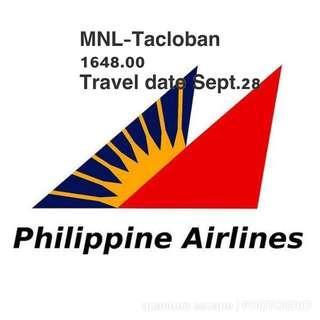 Manila -Tacloban Tickets