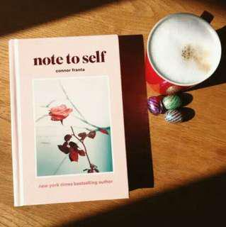 Note To Self - Connor Franta (Ebook)
