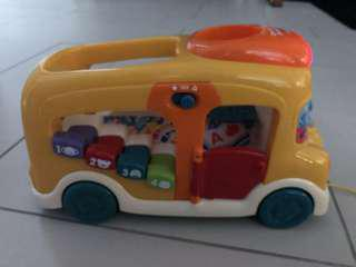 Count & learn toy car