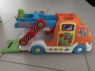 Pull & learn car carrier