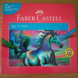 🚚 Faber Castell Oil Pastels
