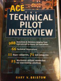 (Last Price) Ace the Technical Pilot Interview & Flying the Big Jet