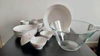Ikea Plates and Glasses