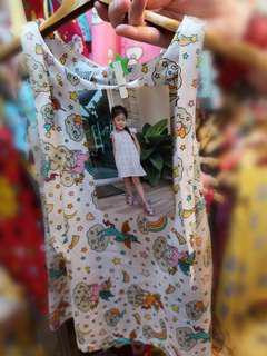 Toddler/kids Dress - unicorn design