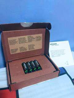 Amazon Basics AA Rechargeable Batteries 4-Pack