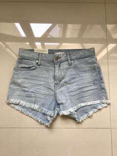 BNWT H&M Light Denim Shorts