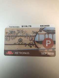 September Post Secondary TTC Pass