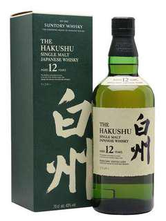 Hakushu 12 years (rare) limited bottles with this new packaging before production stops.