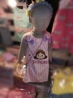 Customise Toddler/kids Dress - w name or wordings