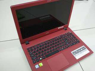 Laptop Acer E15 E5 574G 54DV intel i5