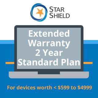 Star Shield Extended Warranty 2-Year Standard Plan