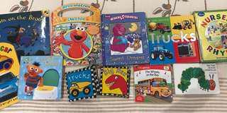 Bundle of 10 popular children/baby books