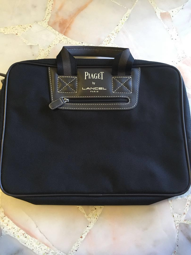 3bdbe48588 Authentic Piaget by Lancel Paris laptop   work bag   document case ...