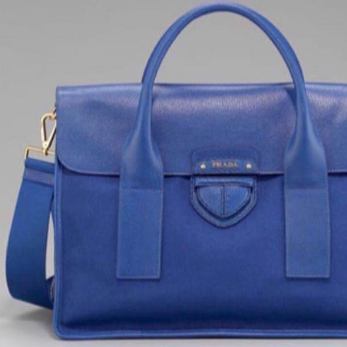 3eb87704cfac ... switzerland authentic prada bag in cobalt blue luxury bags wallets  handbags on carousell fa30b 9100e ...