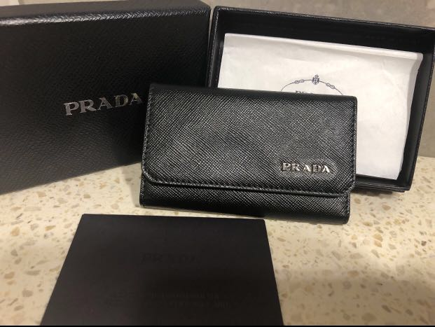 1df21d418923 ... cheap authentic prada key holder luxury bags wallets others on  carousell 8f10e f2adb
