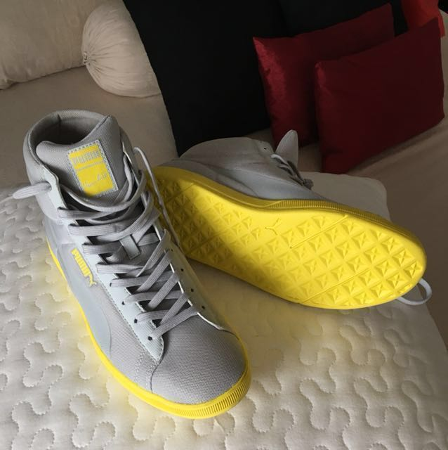 f0feeea54f3 Authentic Puma Bolt Lite Mids Shoes(high top sneakers)