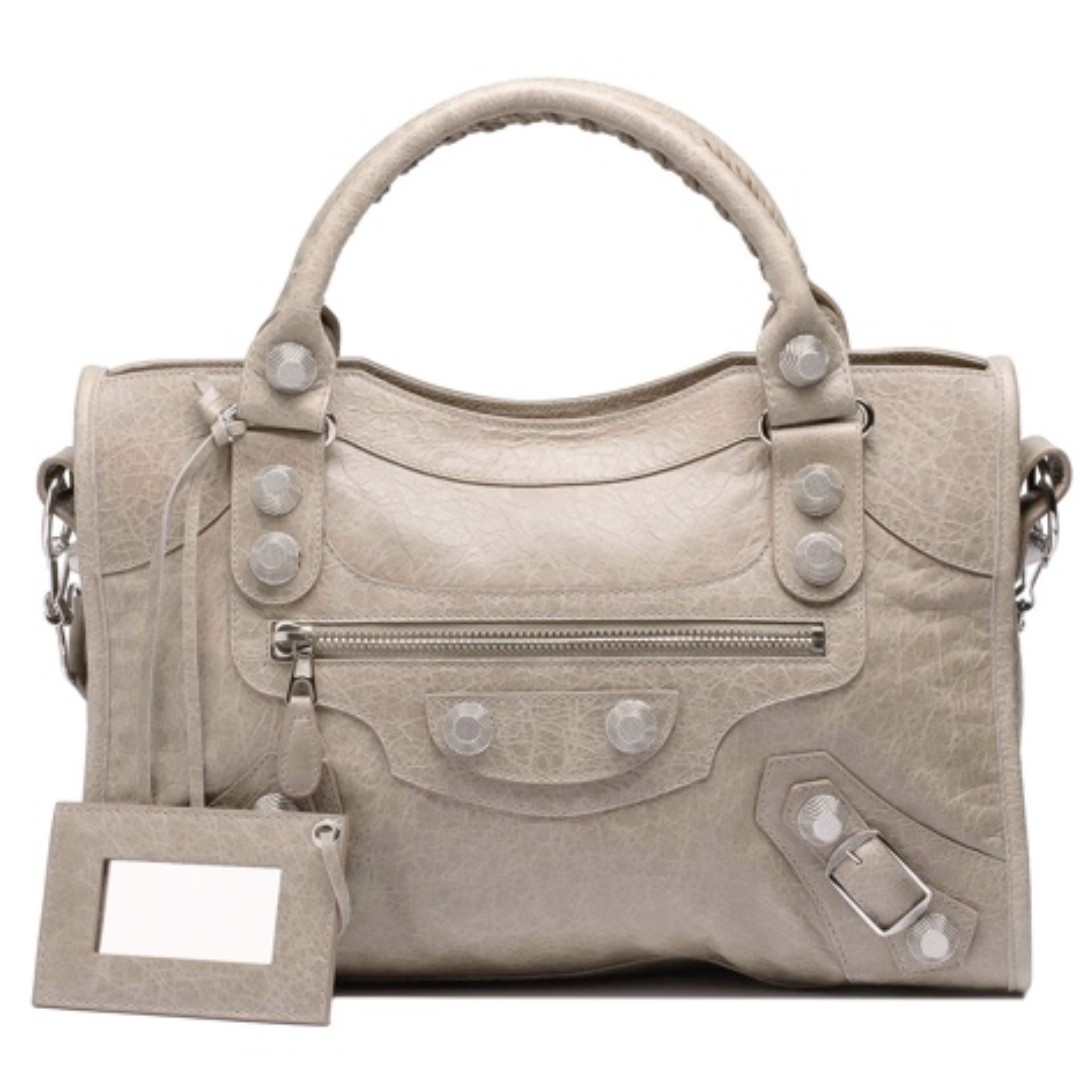 ad8a7a2137 BEST DEAL-PRICE LOWERED  Balenciaga giant silver hardware City bag ...