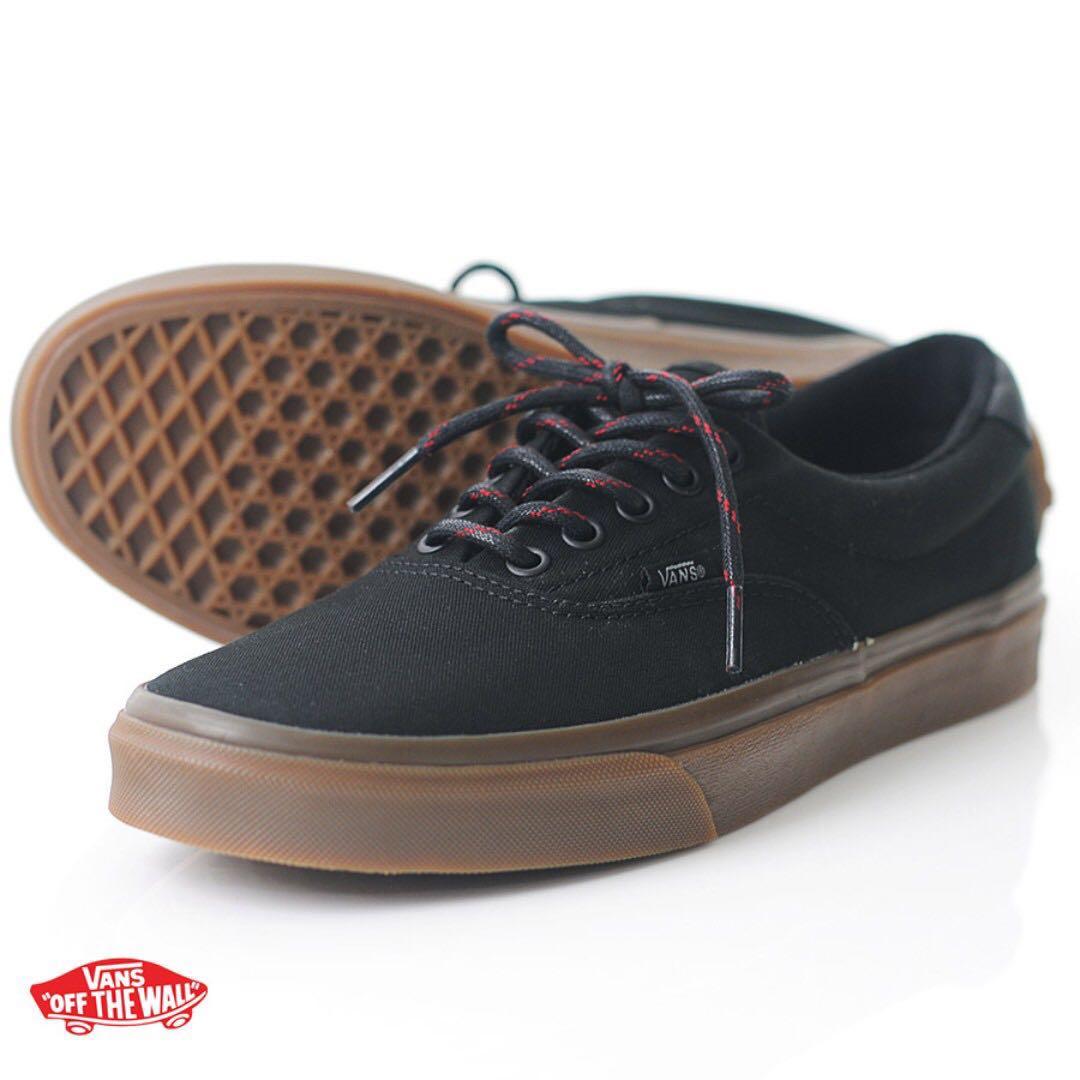 14432fceaa Black Vans Era 59 Sneakers Gumsole