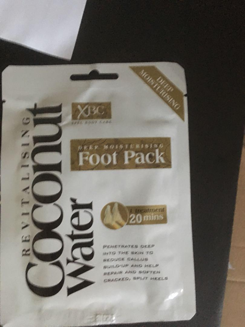 Coconut Foot Pack Treatment