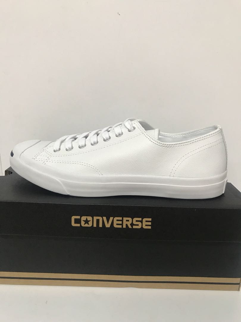7d7615b3c526 CONVERSE JACK PURCELL LEATHER OX WHITE