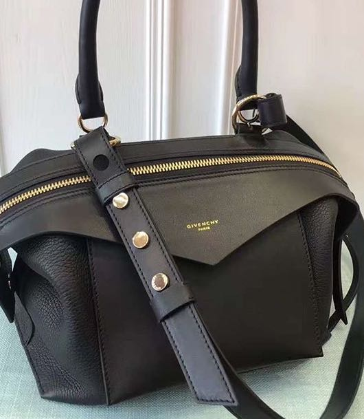 e33c2b9fb8e GIVENCHY Sway Black Calf Leather Bag, Women s Fashion, Bags   Wallets on  Carousell