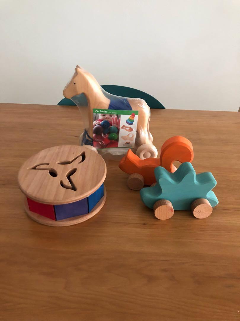 Grimm\'s Spiel & Holz wooden toys handmade, Babies & Kids, Toys ...