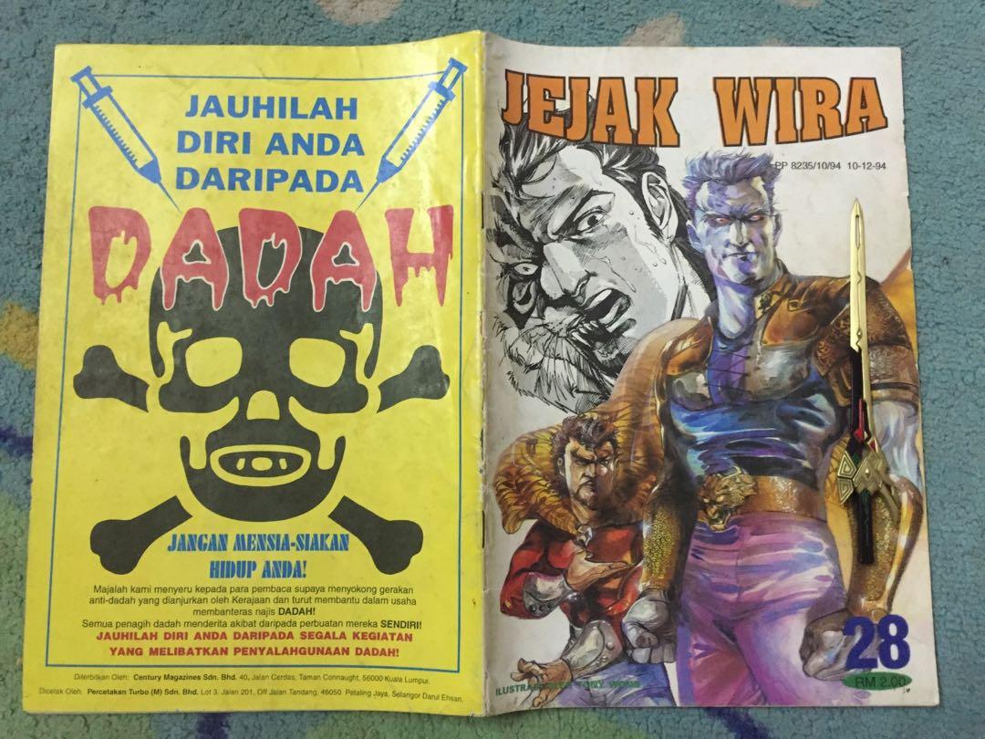 Jejak Wira Lama Books Stationery Comics Manga On Carousell
