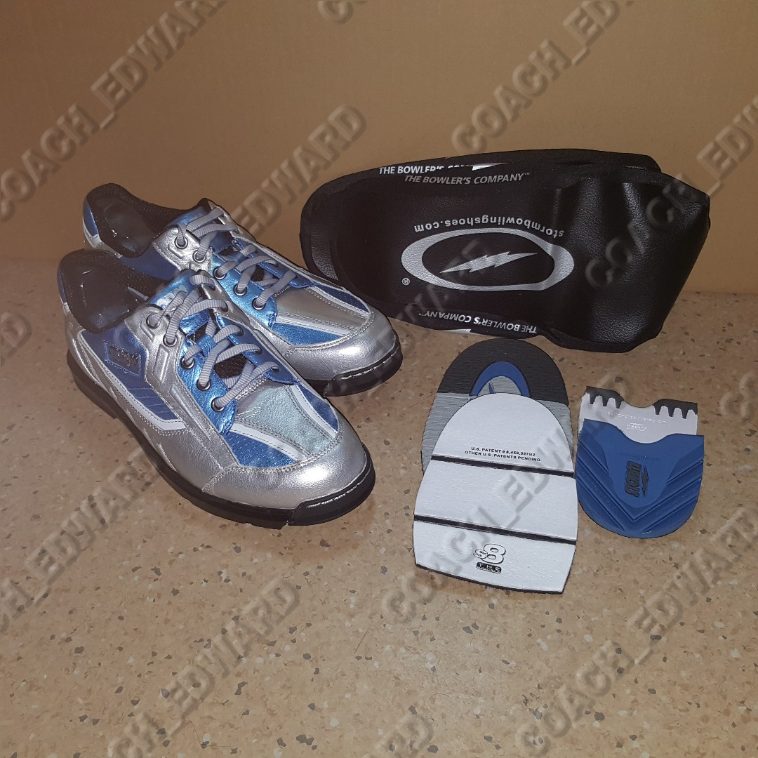 e9b11801a34 Just arrived BNIB Storm Mens SP3 Silver Teal Black bowling shoes ...