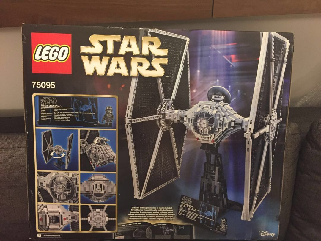 LEGO 75095 UCS Star Wars Tie Fighter, Toys & Games, Bricks & Figurines on Carousell