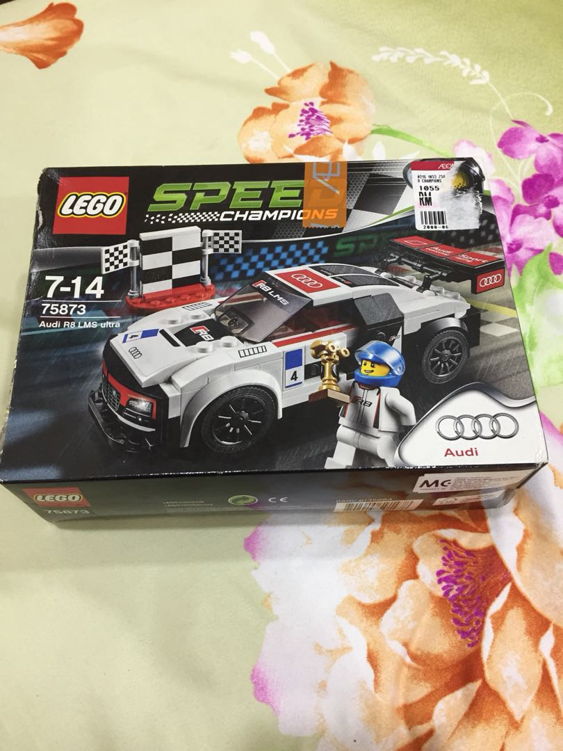 Lego Speed Audi R8 Lms Ultra Mainan Game Di Carousell 75873 Champions