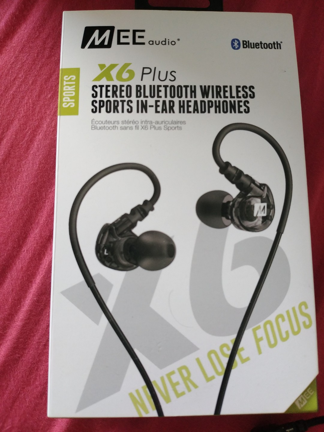 Mee Audio X6 plus Bluetooth sports in ear headphones