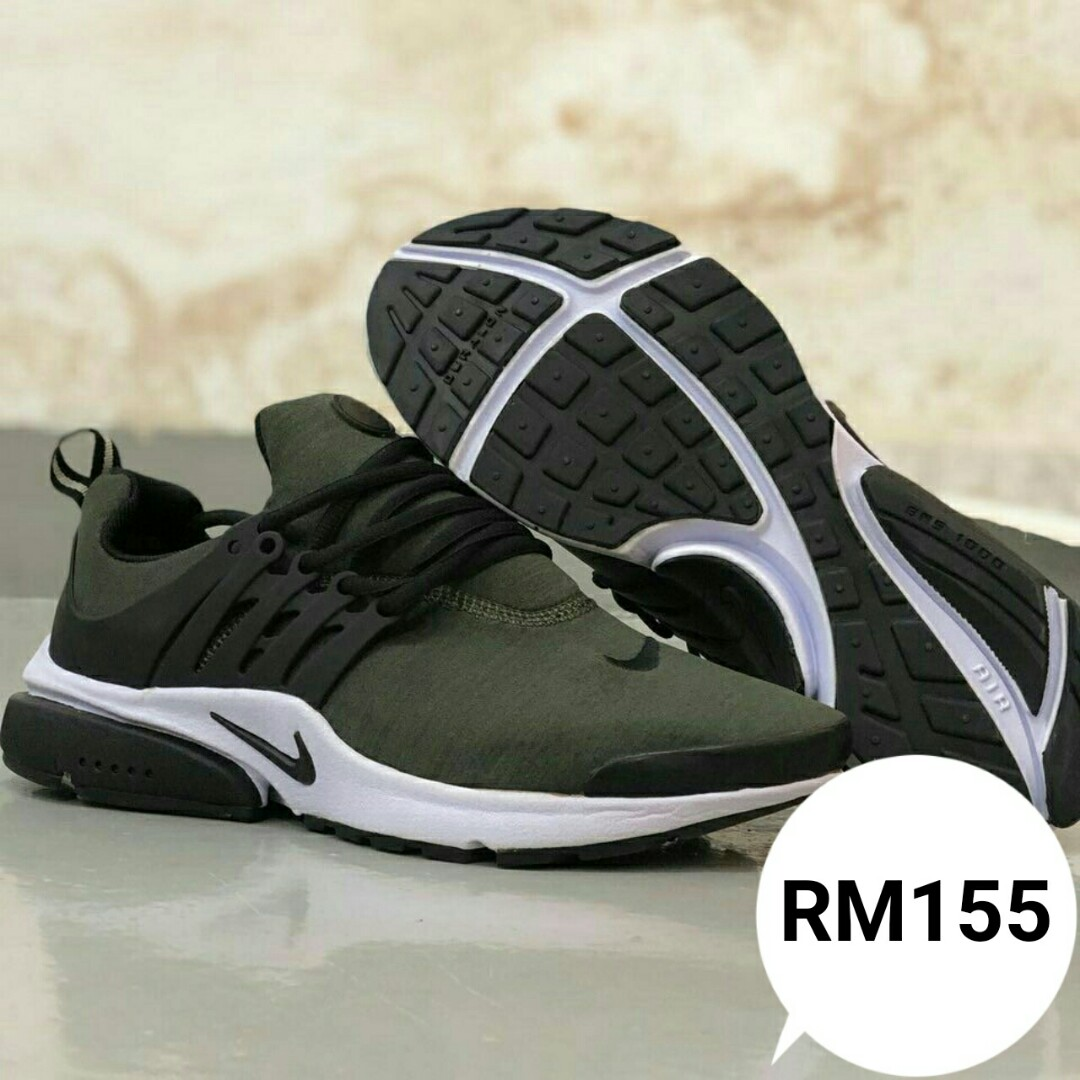 83a04cd66975 ... sale nike air olive green copy ori mens fashion footwear sneakers on  carousell d2473 b8778