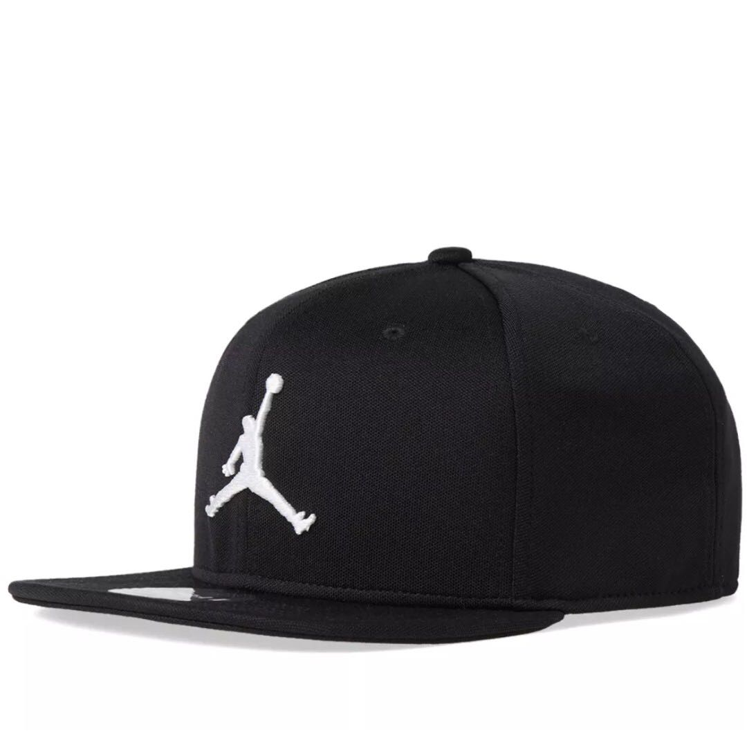 b7a1459506f3d NIKE JORDAN JUMPMAN SNAPBACK CAP BLACK & WHITE, Men's Fashion ...
