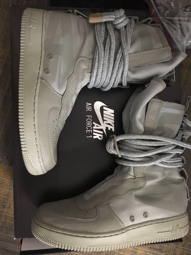 d4b7a0e0d08 Nike SF AF1 High Sage Special Field Air Force